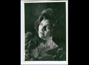 S2178/ Opernsängerin Anneliese Wales Original Autogramm