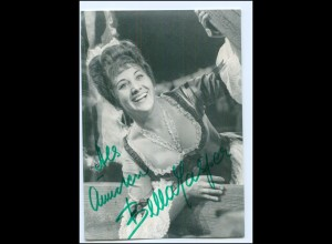 S2177/ Opernsängerin Bella Jasper Original Autogramm