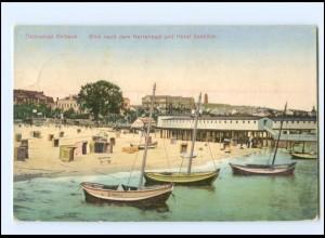 Y16753/ Ahlbeck Herrenbad und Hotel Seeblick 1917 AK