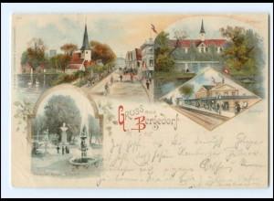 Y16821/ Hamburg Gruß aus Bergedorf 1900 Litho AK