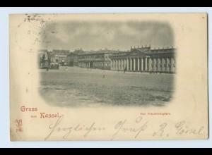 A0793/ Kassel Gruß aus Kassel Der Friedrichsplatz 1897 AK