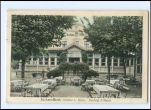 V274-174/ Seebad Ahlbeck Kurhaus-Hotel AK 1919