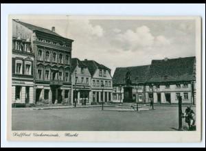 V299-173/ Ueckermünde Markt AK 1941