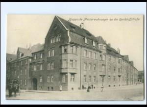 V331/ Essen Kruppsche Meisterwohnungen Kerckhoffstr. AK ca.1912