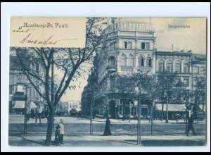 V318/ Hamburg St. Pauli Reeperbahn AK 1905