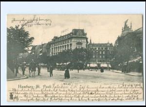 V317/ Hamburg St. Pauli AK 1903