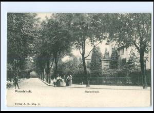 Y16806/ Hamburg Wandsbek Marienstraße 1907 AK