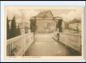 Y16811/ Hamburg Bergedorf Blick von der Schloßbrücke AK