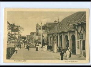 V359/ Westerland Sylt Strandstraße 1915 AK