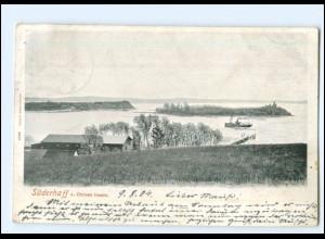 V358/ Süderhaff Sonderhav Ochsen-Inseln Nordschleswig AK 1904