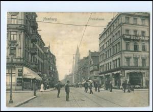 V638/ Hamburg St. Georg Steinstraße AK ca.1910