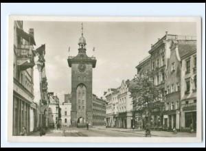 V372/ Elbing Markttor Ostpreußen Foto AK ca.1935