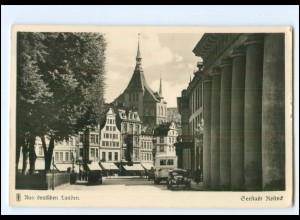 V383/ Rostock Foto AK 1936
