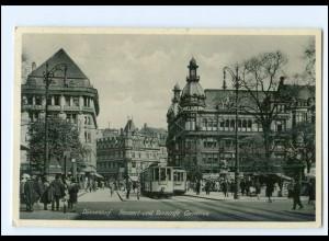 V258/ Düsseldorf Tanzcafe Cornelius Straßenbahn AK 1939
