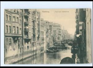 Y16817/ Hamburg Altstadt Fleet beim Stubbenhuk AK