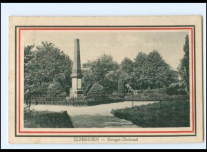 Y16793/ Elmshorn Kriegerdenkmal 1916 AK