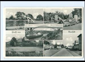V242-2243/ Bunsoh Dithm. mit Hochbrücke AK 1958