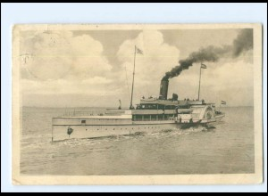 Y16962/ Salondampfer Najade Norddeutscher Lloyd AK 1913