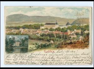 Y16861/ Gotha 1899 Litho AK