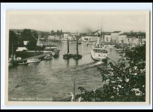 V226/ Swinemünde Hafen Dampfer Foto Ak ca.1935