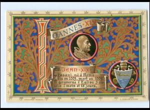 S2315/ Vatikan Papst Johannes XIX Litho AK 1903 Karte Nr. 116 Vatican