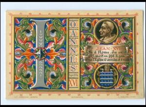 S2350/ Vatikan Papst Johannes XVI Litho AK 1903 Karte Nr. 121 Vatican