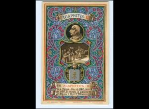 S2357/ Vatikan Papst Agapitus II Litho AK 1903 Karte Nr. 131 Vatican
