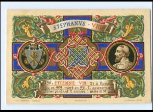 S2363/ Vatikan Papst Stephan VIII Litho AK 1903 Karte Nr. 136 Vatican