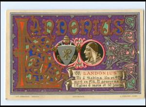 S2376/ Vatikan Papst Lando Litho AK 1903 Karte Nr. 139 Vatican