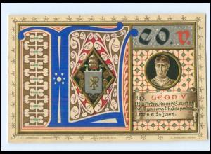 S2329/ Vatikan Papst Leo V Litho AK 1903 Karte Nr. 143 Vatican
