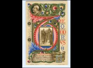 S2378/ Vatikan Papst Theodor II Litho AK 1903 Karte Nr. 146 Vatican