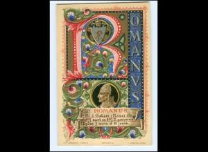 S2377/ Vatikan Papst Romanus Litho AK 1903 Karte Nr. 147 Vatican
