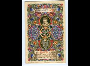 S2343/ Vatikan Papst Johannes VIII Litho AK 1903 Karte Nr. 154 Vatican