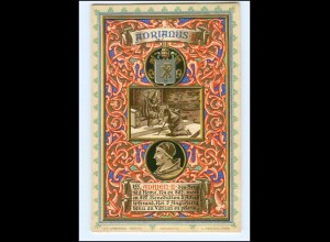 S2360/ Vatikan Papst Adrian II Litho AK 1903 Karte Nr. 155 Vatican