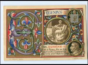 S2365/ Vatikan Papst Eugen II Litho AK 1903 Karte Nr. 162 Vatican