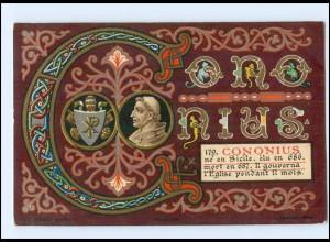 S2372/ Vatikan Papst Cononius Litho AK 1903 Karte Nr. 179 Vatican