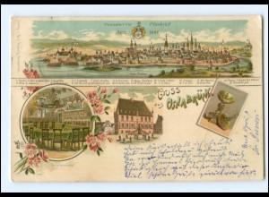 XX10359/ Gruß aus Osnabrück schöne Litho ak 1898