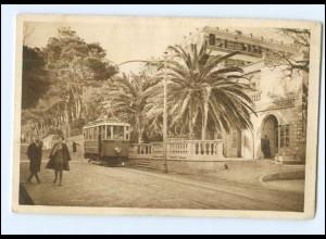 XX10813/ Dubrovnik Pile mit Hotel Imperial Straßenbahn AK ca. 1935 Kroatien