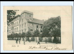 XX10823/ Berlin Gymnasium zum Grauen Kloster AK 1901