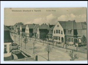 XX10411/ Berlin Villenkolonie Uhlenhorst b. Köpenick Eciehn-Allee AK ca.1912