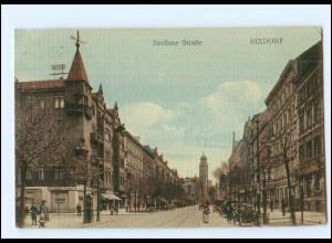 XX10843/ Berlin Rixdorf Berliner Straße AK 1911