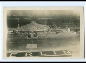 XX10841/ Berlin Tegel Flughafen Foto AK ca.190 Klinke & Co. Foto