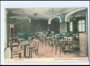 XX10839/ Berlin Charlottenburg Cafe Empire AK 1910