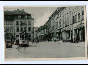 XX10720/ Küstrin Am Markt Straßenbahn ca.1942