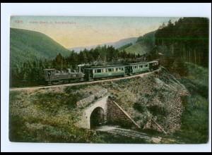 Y17002/ Harz-Quer- und Broclenbahn Eisenbahn AK ca.1910