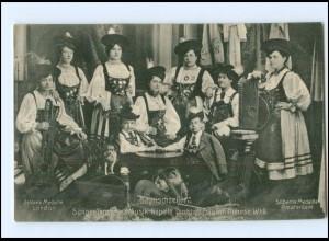 Y17052/ Bayrischzeller Sänger,-, Tänzer und Musik Kapelle AK 1907