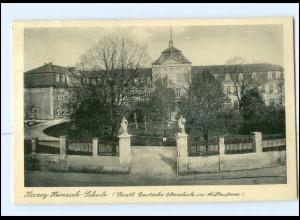 V457-392/ Barby Elbe Herzog-Heinrich-Schule AK 1936