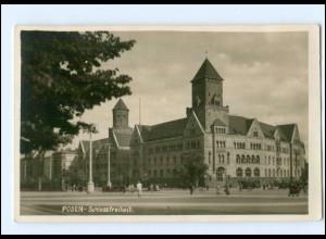 Y16865/ Posen Schloßfreiheit 1940 Foto AK