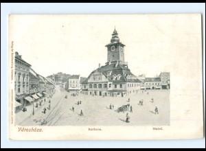 V453/ Varoshaza Rathaus AK Ungarn ca.1900