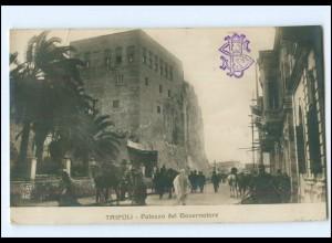 V450/ Tripolis Libyen Palazzo del Gouvernatore Foto AK 1912